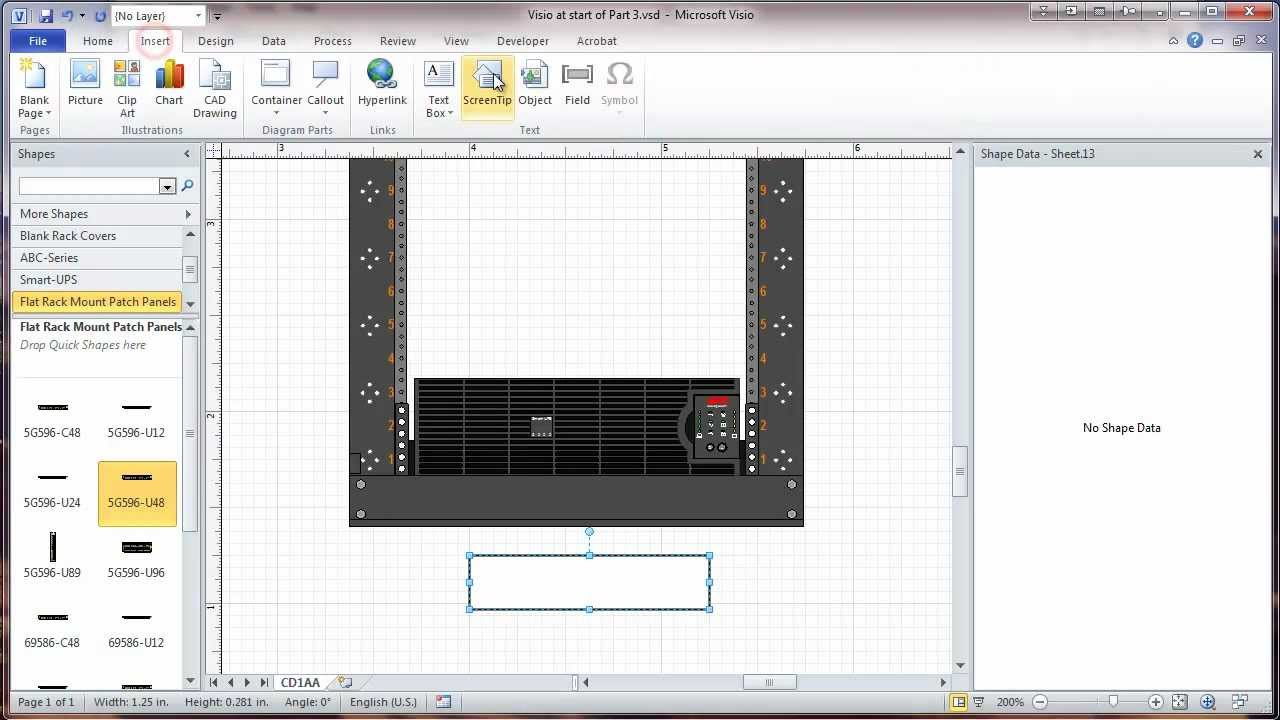 Visio 2010 Network Rack Diagram Tutorial  Part 3  Layers and Rack ID  YouTube