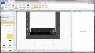 Visio 2010 Network Rack Diagram Tutorial - Part 3 - Layers And Rack Id