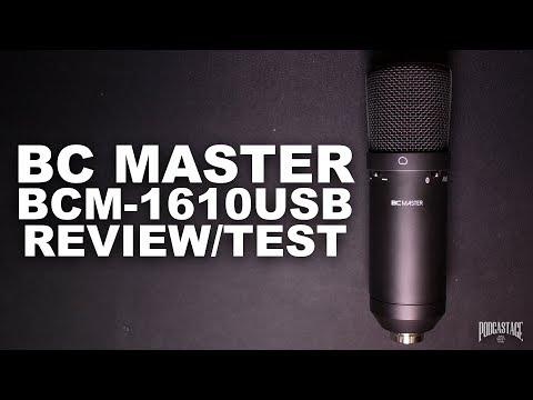 BC Master USB Mic (BCM-1610USB) Review / Test