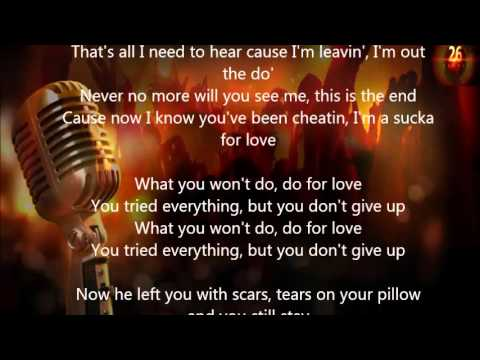 2pac Do For Love Lyrics Youtube