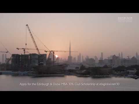 EBS full MBA Scholarship with the 30% Club Dubai