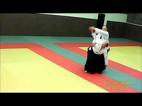 chudan tsuki 2 association aikido Longjumeau Yves BUSSER