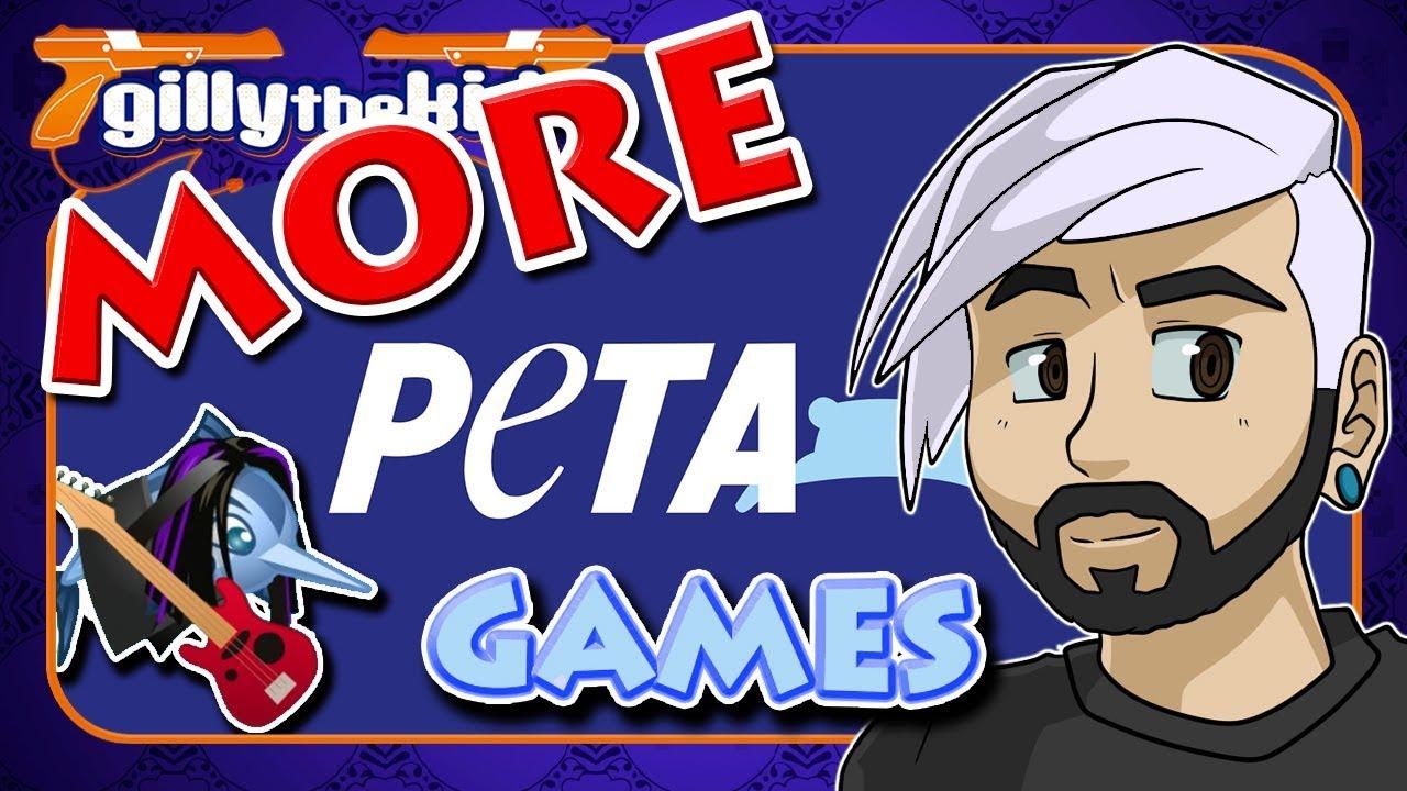 more peta games gillythekid youtube