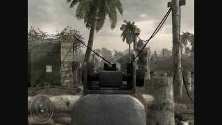 COD WAW Walkthrough Mission 3 Hard Landing Part 1
