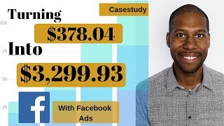 Facebook Ads Casestudy - Turning $378.04 into $3,299.93 with a Tiny Niche Store