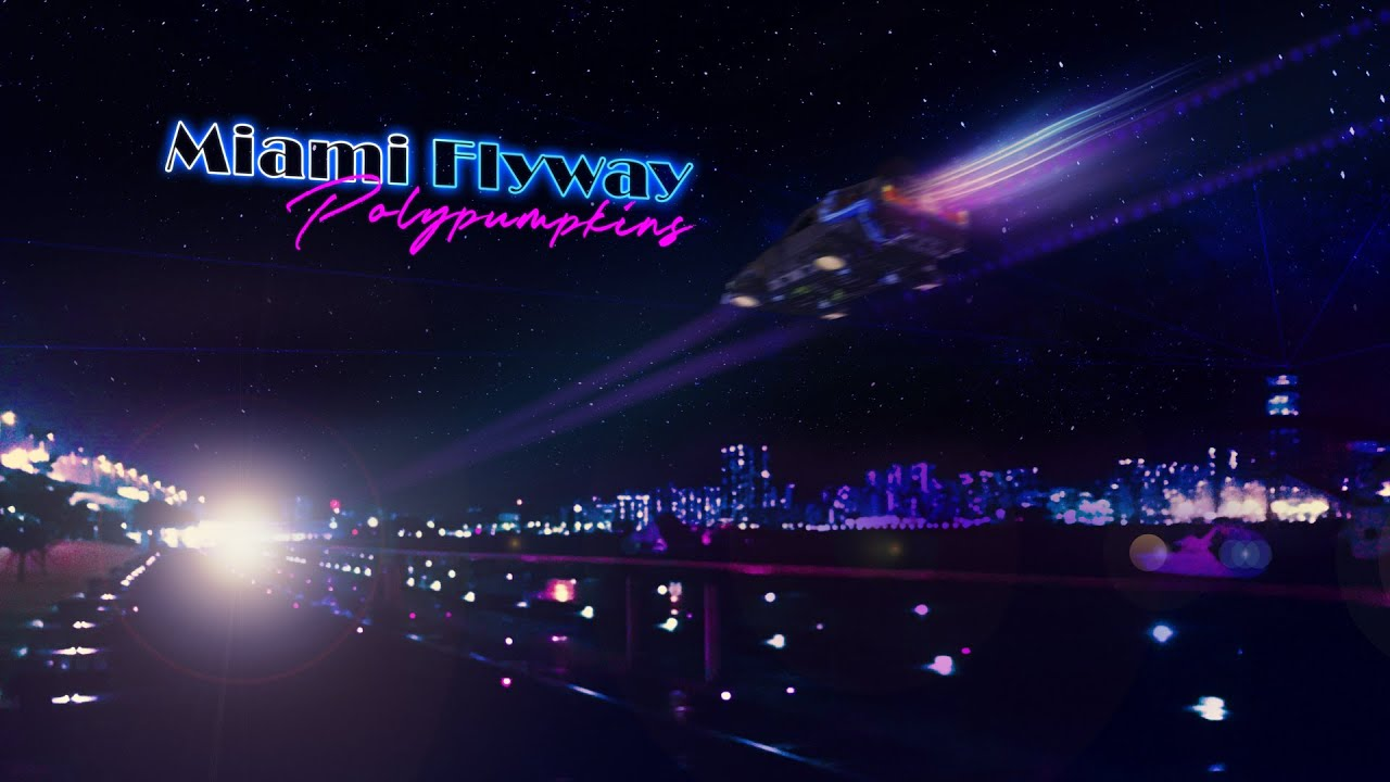 Polypumpkins - Miami Flyway || Synthwave Retrowave 📻