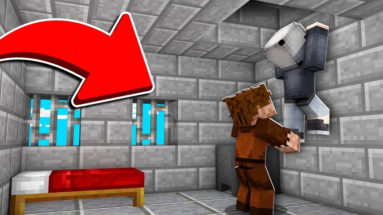 ARKADAŞIM HAPİSTEN KAÇMAMA YARDIM ETTİ! 😱 - Minecraft