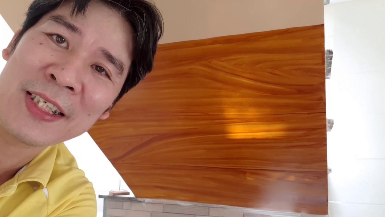 Hướng Dẫn Cách Vẽ Vân Sơn Giả Gỗ Từ A – Z, Giả Gỗ Cầu Thang Phong Thủy Phòng Khách