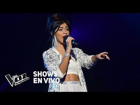 "Shows en vivo TeamTini: Juliana canta ""Million Reasons"" de Lady Gaga - La Voz Argentina 2018"