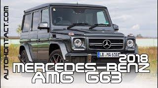 2018 Mercedes AMG G63, новый Гелик - видео обзор