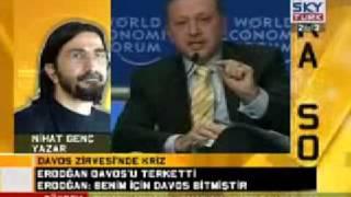 Nihat Genç, Başbakan Erdoğan'ın Davos'ta yaptığı konuşmayı  yorumluyroR