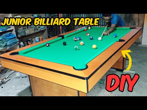 HOW TO MAKE BILLIARD TABLE | PART 1