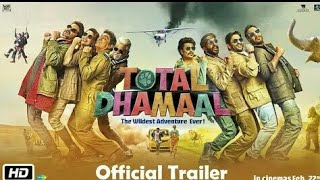 Total Dhamaal Official Trailer (( New Movies trailer 2019 ))
