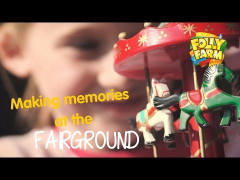 Folly Farm's vintage fairground