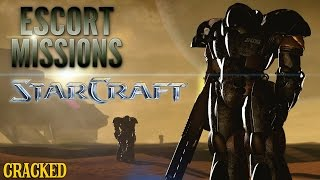 Why The Plot Of Starcraft Is Insane - Escort Mission