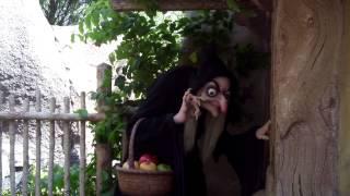 Seven Dwarfs Mine Train Ride - Old Hag/Wicked Queen Cameo - New Fantasyland at the Magic Kingdom