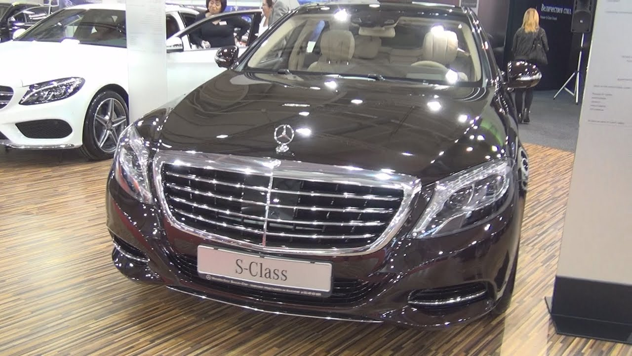 mercedes benz s 350 d 4matic l 2016 exterior and interior in 3d youtube. Black Bedroom Furniture Sets. Home Design Ideas