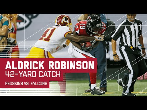 Matt Schaub Launches Two Deep Balls to  Aldrick Robinson (Preseason) | Redskins vs. Falcons | NFL