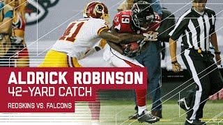 Matt Schaub Launches Two Deep Balls to  Aldrick Robinson (Preseason) | Redskins vs. Falcons | NFL