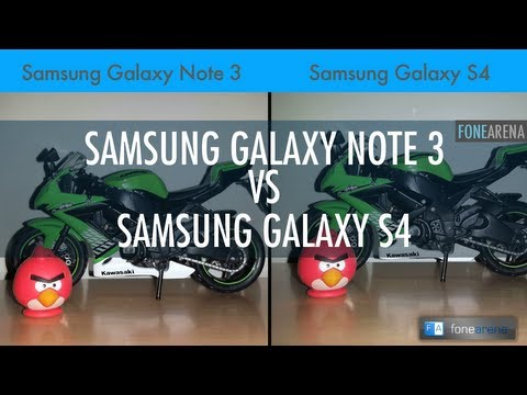 Samsung Galaxy Note 3 Vs Samsung Galaxy S4 Camera Comparison
