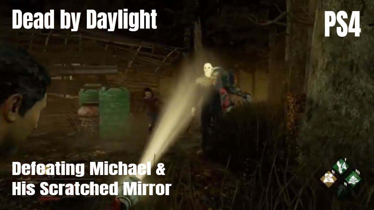Defeating Michael & His Scratch Mirror | SWF | Dead by Daylight | PS4