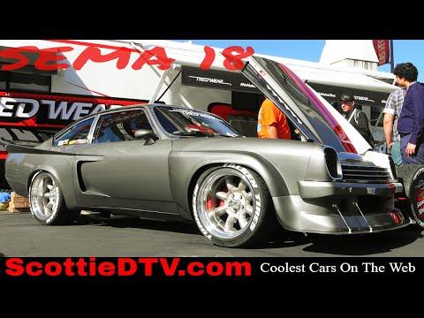 1975 Chevrolet Vega IMSA Replica Race Car 2018 SEMA Show