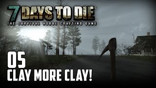 7 Days to Die [05] [Clay more Clay] [Double Team] [Let's Play Gameplay Deutsch German HD] thumbnail