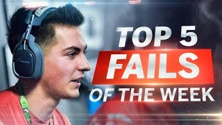 Censor Gets TURNED ON! - COD WWII: TOP 5 PRO FAILS #13 - Call of Duty World War 2