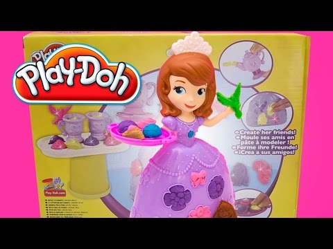 Thumbnail: Sofia The First Play Doh Tea Party Set Disney Princess Royal Toy Videos
