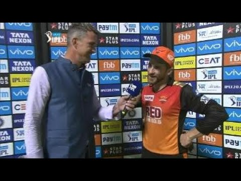 KKR VS SRH || IPL 2018 QUALIFIERS 2 || KANE WILLIAMSON INTERVIEW HYDERABADI STYLE