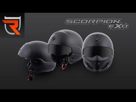 Scorpion Covert 3 in 1 Modular Motorcycle Helmet Product Spotlight Video | Riders Domain