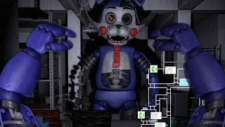 PLAY AS CANDY AND ALL FNAC ANIMATRONICS! | Five Nights at Candy's 2 Simulator (FNAF)