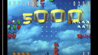 zoop playstation long play from level 9 to 55. Level mode, difficulty 3