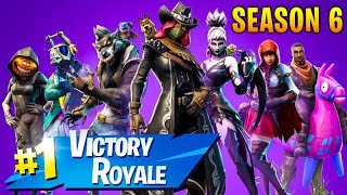 LIVESTREAM #727 FORTNITE ! SEASON 6 ! NOVO BATTLE PASS :D NOVO MAPA & BIG UPDATE ! 🏆 528 WINS