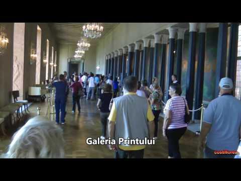 Sweden, Stockholm City Hall -Trip to Norwegian Fjords - part19 -Travel,calatorii,turism