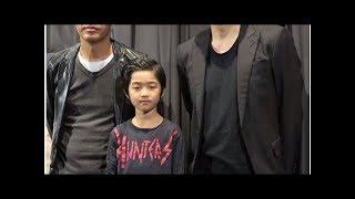 劇団exile青柳翔、初対面の子役に「パパだよ」 ******************...