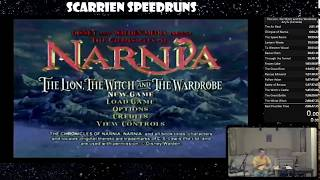 The Chronicles of Narnia: The Lion, The Witch and the Wardrobe speedrun