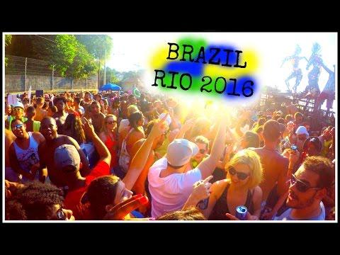 BRAZIL, RIO 2016, 3/3 | Santa Teresa, Sambadrome & Baile De Favela! | Melanie Richardson