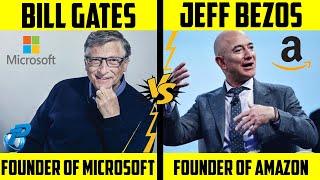 Bill Gates VS Jeff Bezos | Richest People in the World 2020 | Placify