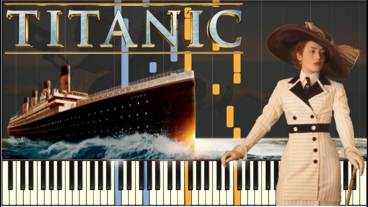 how to play the titanic song on piano