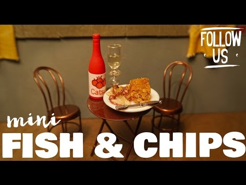 MINI FISH & CHIPS!