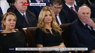Miloš Zeman inaugurační projev prezidenta 2018