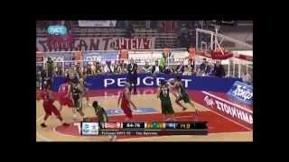 olympiakos vs pao 84-78 2012 1st final