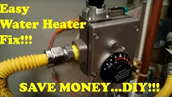 DIY: Easy Replacement of Water Heater Thermostat