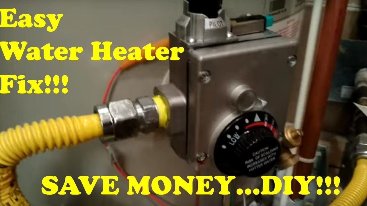 DIY Easy Replacement of Water Heater Thermostat YouTube