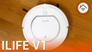 ILIFE V1 robot aspirapolvere, recensione in italiano