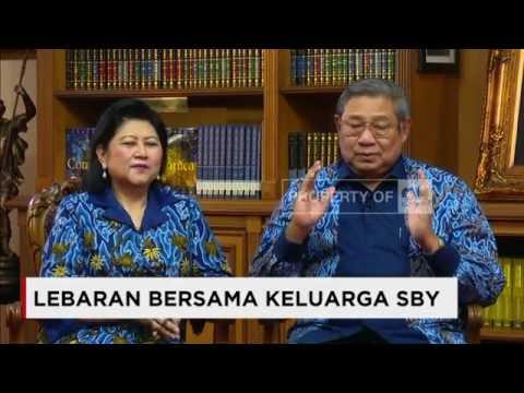 Lebaran Bersama Keluarga Presiden SBY