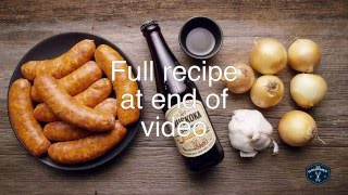 Beer Braised Sausages - Le Gourmet TV 4K
