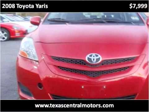 2008-toyota-yaris-used-cars-austin-tx