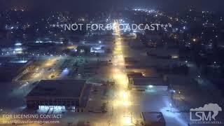 01-16-2018 Pine Bluff, AR - Heavy Snow Drone